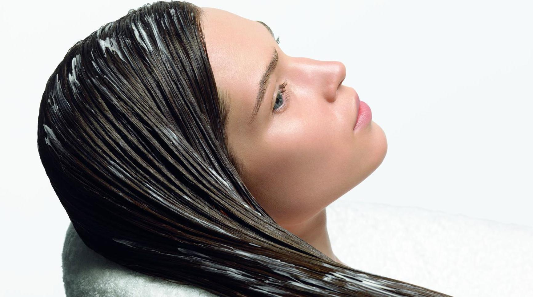 Маска для волос от которой темнеют волосы