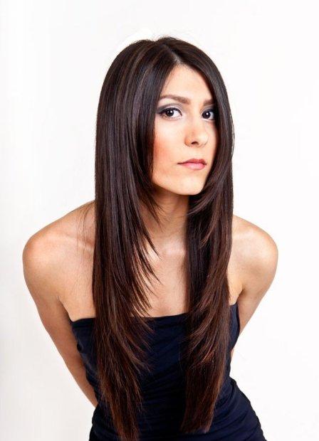 Фото виды стрижек каскад на длинные волос