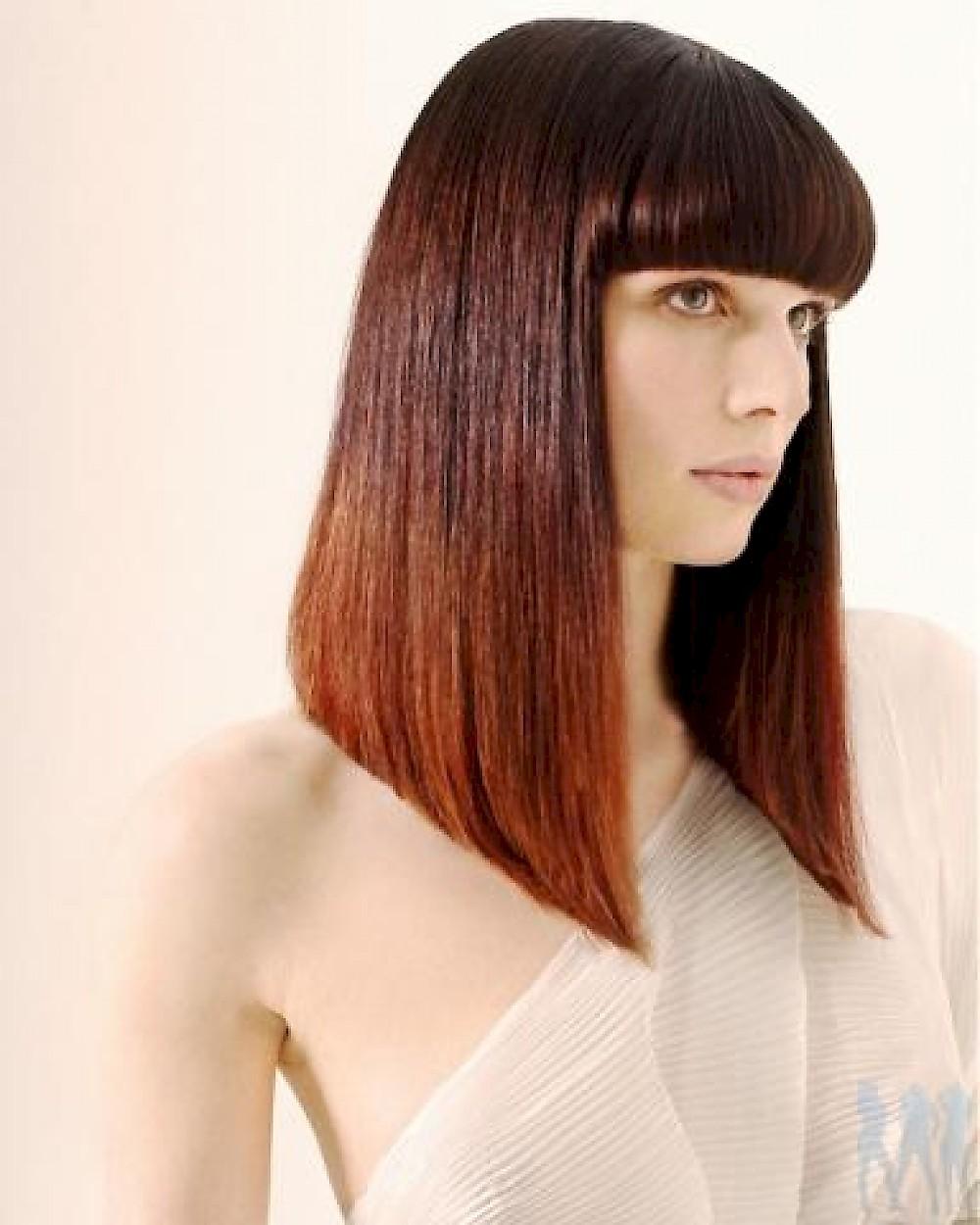 Фото стрижка для длинных волос