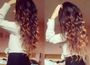 brown-blonde-curly-hairstyle-clip-wavy-ombre-extension-557499