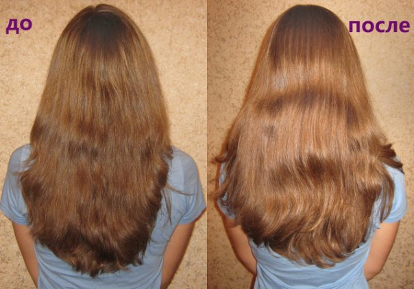 смыть краску дома с волос