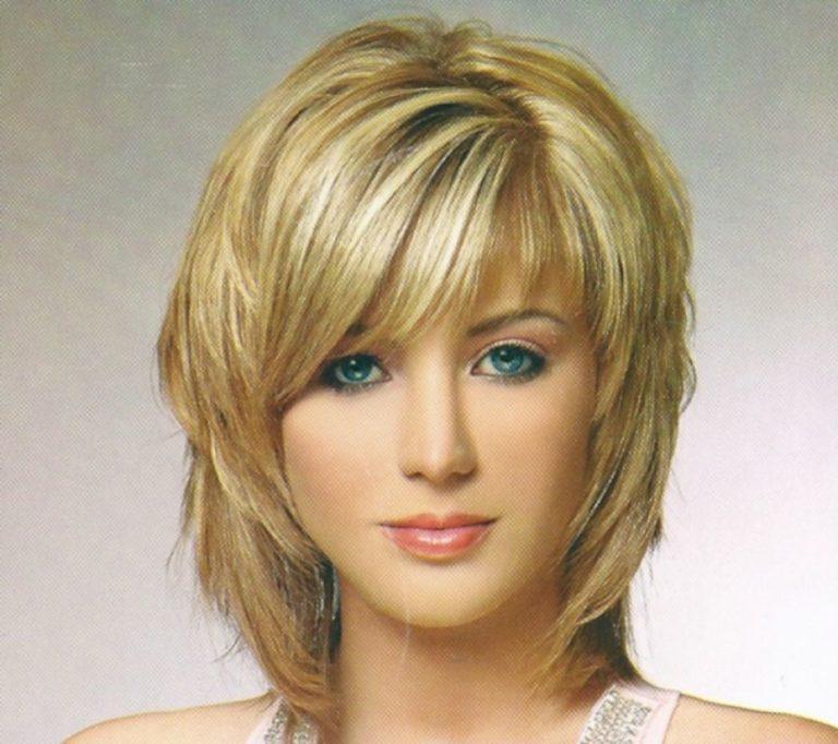 прически на средние тонкие волосы фото женские