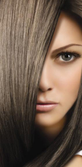 Темно-руссые волосы