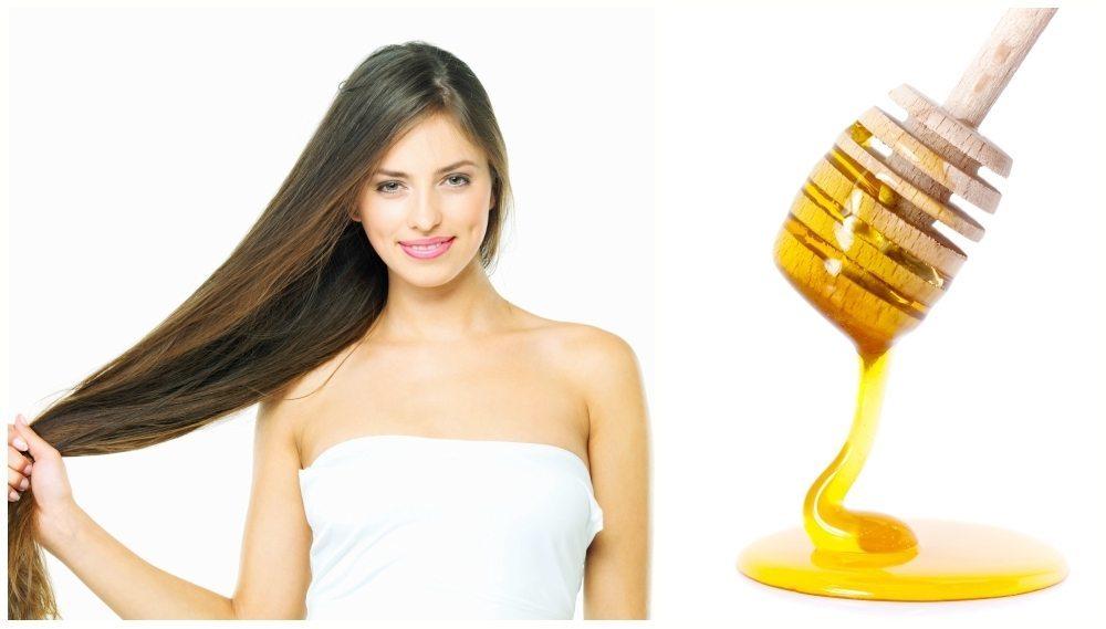 Маска для волос с маслом оливковым с медом