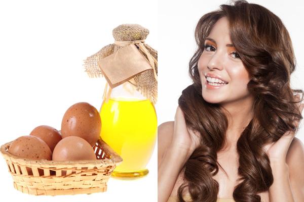 Маска для волос сметана масло желток