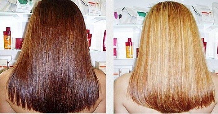 Смывка для волос в домашних условиях черный цвет