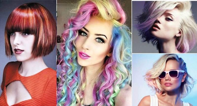 Модные цвета волос 2018 (35 фото)