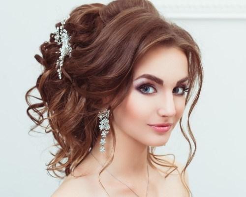 Красивые и легкие прически на распущенные волосы 88