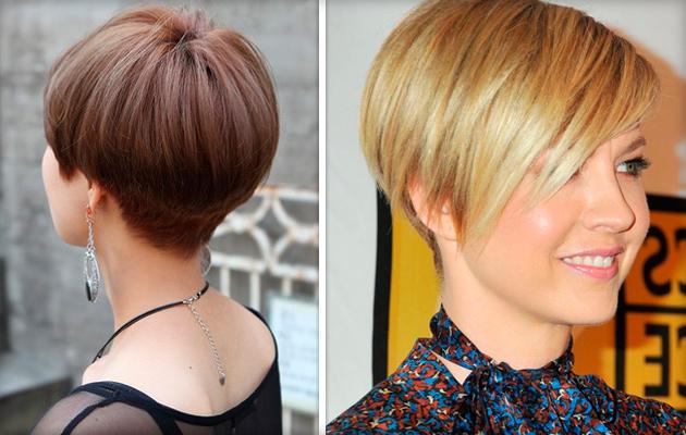 Короткие выбритые стрижки женские