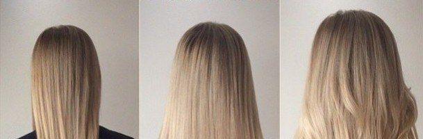 Афронаращивание волос: до и после (35 фото)