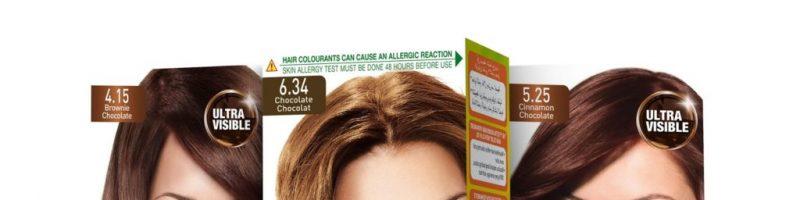 Модные цвета сезона из палитры красок для волос Гарньер
