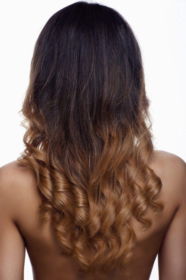 Модное окрашивание на средние волосы картинки