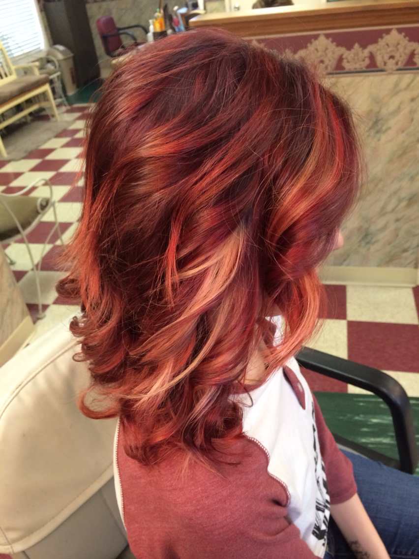 Red To Blonde Ombré Tutorial  YouTube