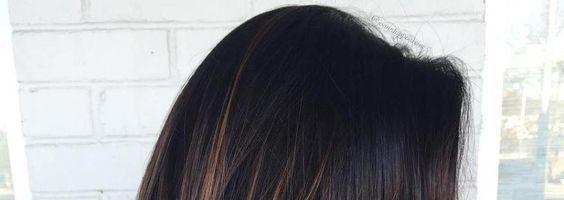 Балаяж на темные волосы (35 фото)