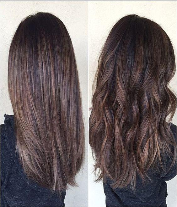 Модное окрашивание на средние волосы: фото креативной