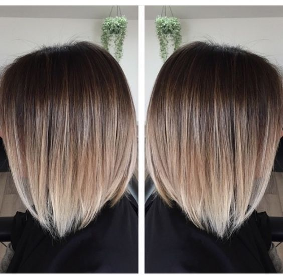 Растяжка на волосах каре