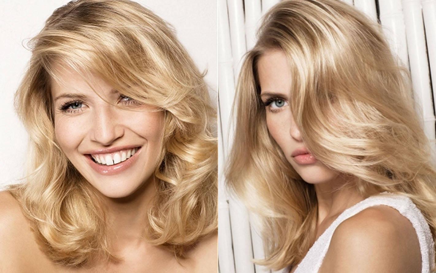 Окрашивание в блондинку фото в домашних условиях