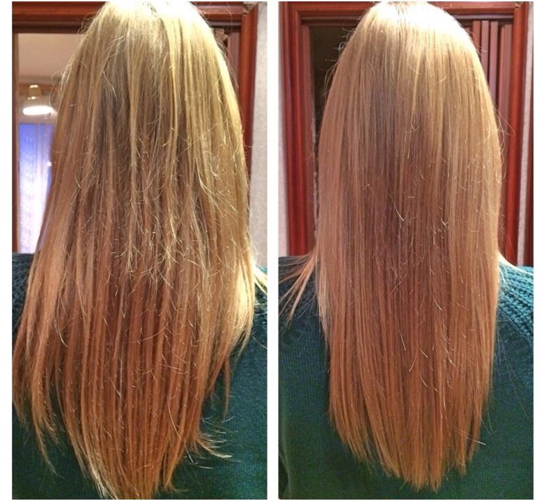Убрать секущиеся волосы по всей длине в домашних условиях 489
