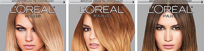 Краска для волос Лореаль: разные техники окрашивания
