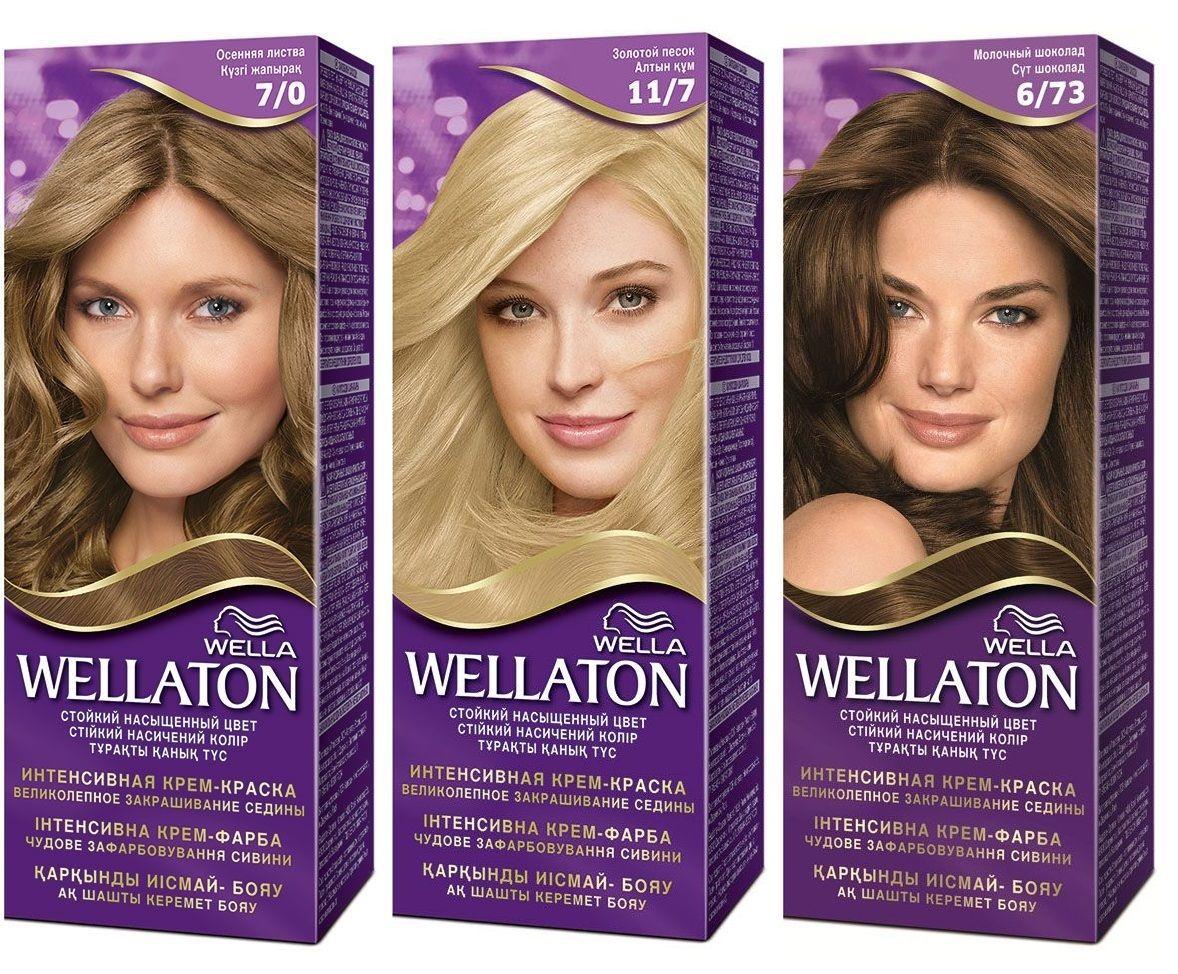 Краска для волос «Веллатон»: обзор продукции