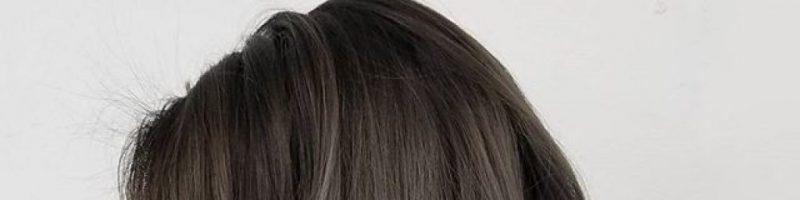 Трендовый темно-пепельный цвет волос