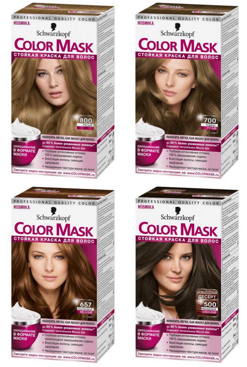 Краска для волос Шварцкопф, палитра цветов и фото Женский