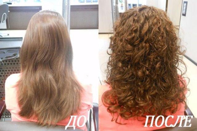 Биозавивка волос - фото до и после, советы, отзывы