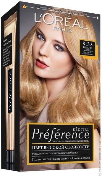 Краска для волос Loreal Preference (описание, обзор, как применять, отзывы)