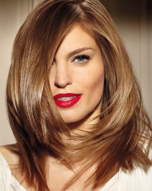 Стрижка «Рапсодия» на средние волосы