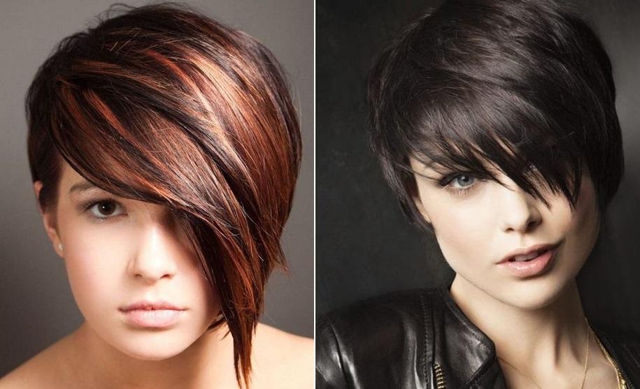 Прически для пышных волос (36 фото ) средней