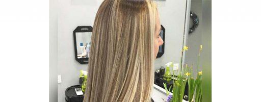 Балаяж на прямые волосы (35 фото)