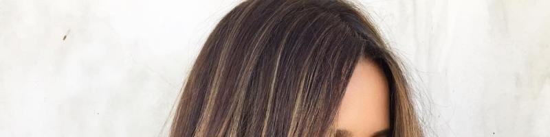 Балаяж на русые волосы (35 фото)