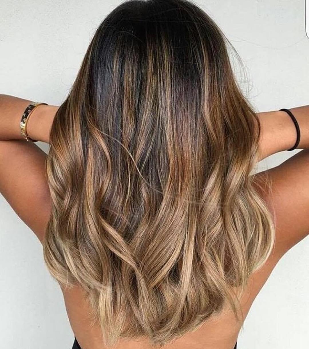 балаяж виды покраски волос фото