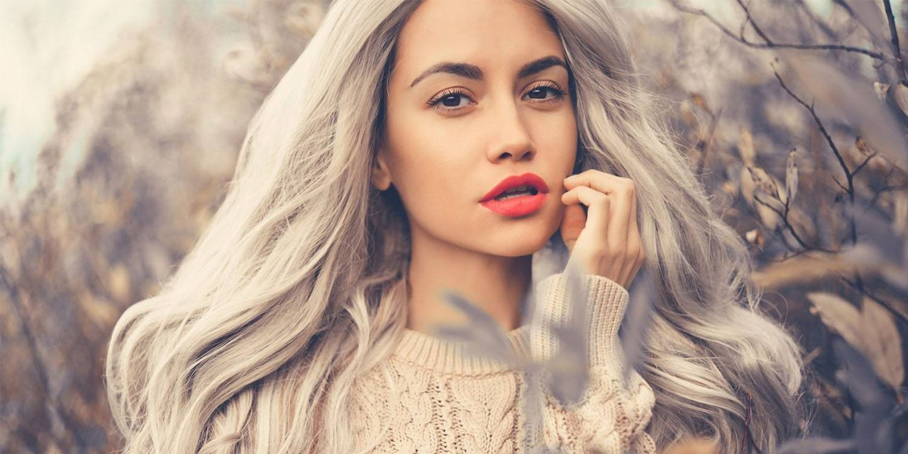 Пепельный цвет волос: способы для окрашивания и уход