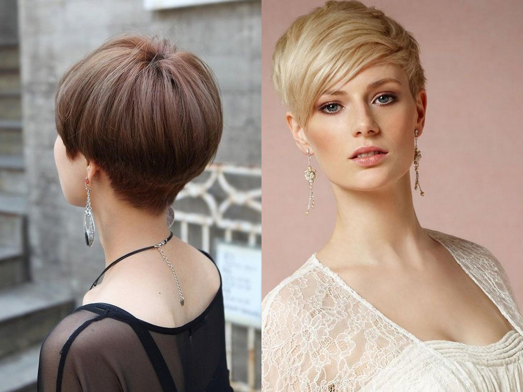 Модные короткие стрижки для мягких волос