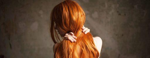 Рыжие волосы без лица: оригинальные образы (30 фото)