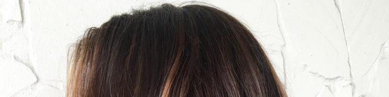 Блики на темных волосах (30 фото)
