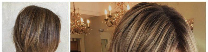 Светлые блики на волосах (35 фото)