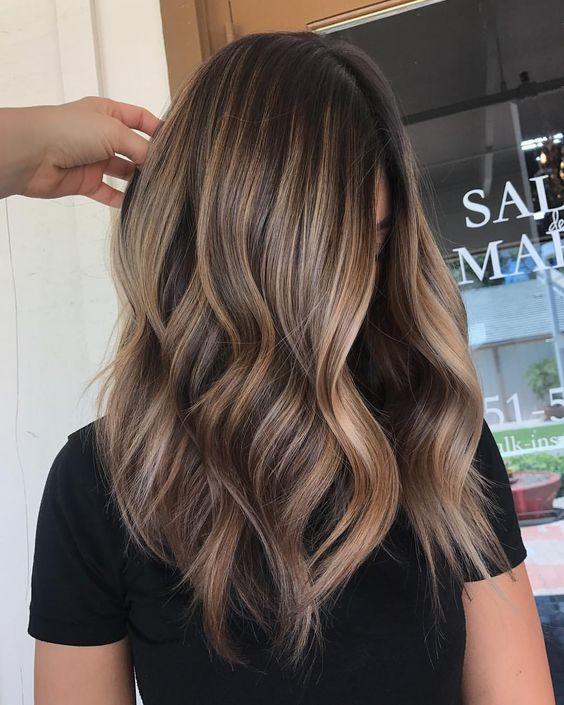 Окрашивание волос блики рекомендации