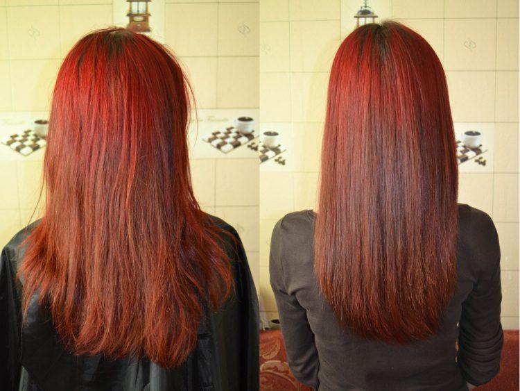 пользуется популярностью биоламинирование волос до и после фото белом парике это