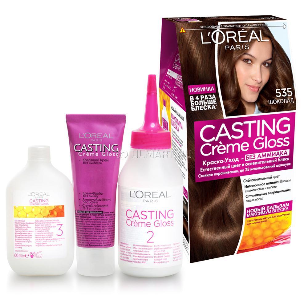 Краска для волос «Кастинг крем глосс»: новинка от Лореаль