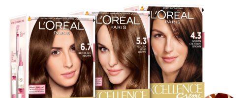 Обзор крем-краски для волос Лореаль Экселанс
