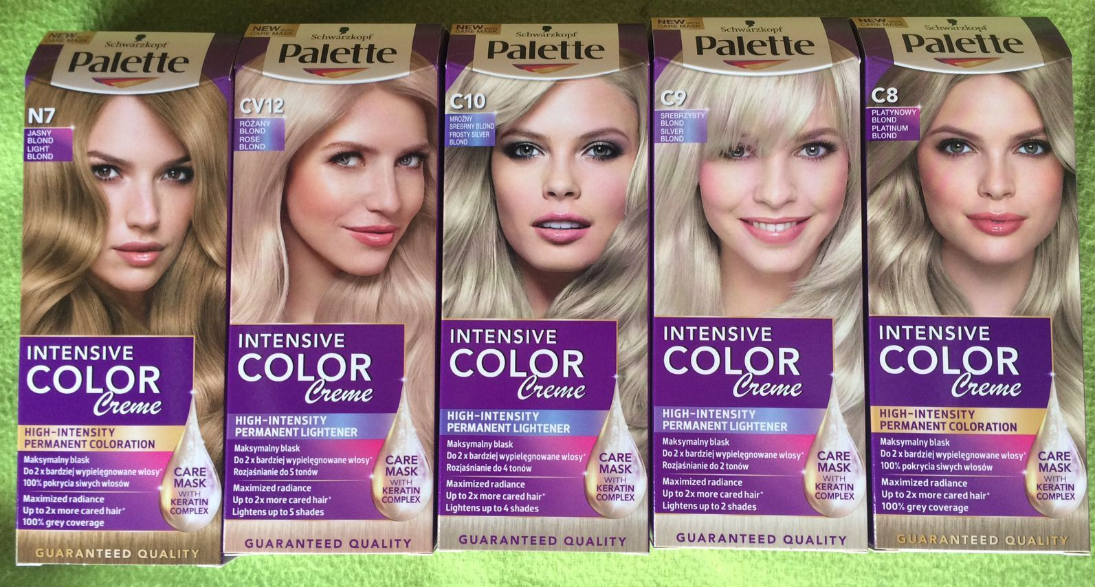 Краска для волос цвета платина