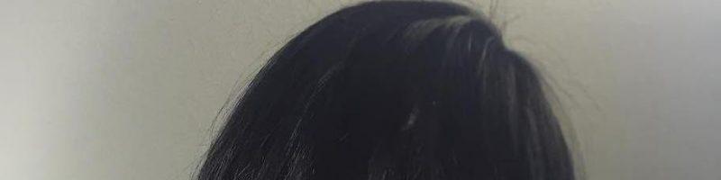 Бордовые пряди на темных волосах (30 фото)