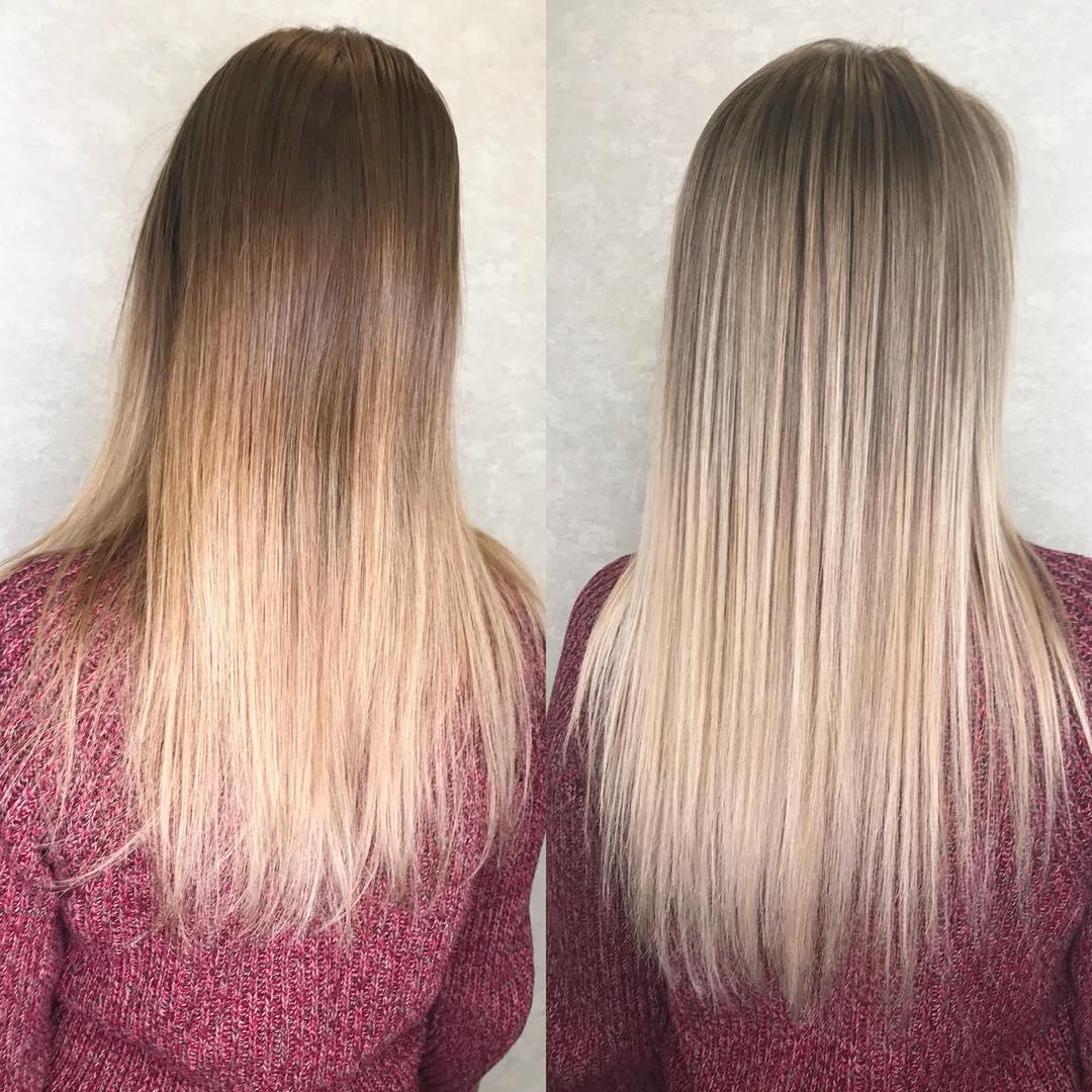 Бразильское наращивание волос (30 фото)