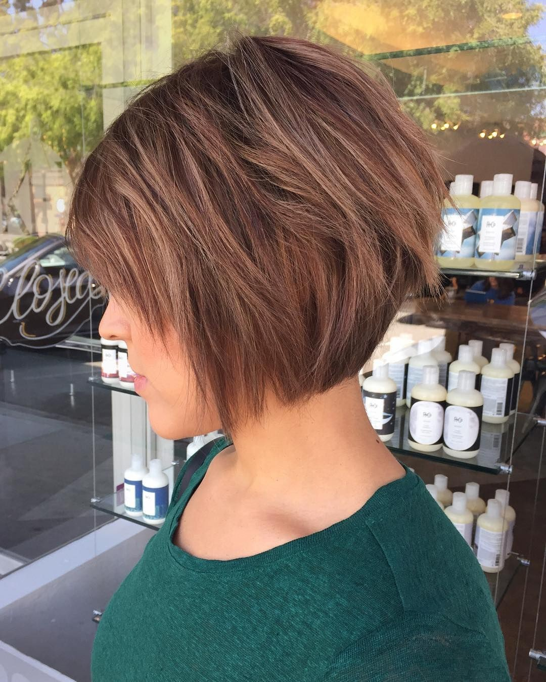 short layered bob hair styles стрижка градуированный боб 30 фото для роста волос 8513 | short layered bob style haircuts inspirational 50 chic long and short layered bob haircuts dazzle with layers of short layered bob style haircuts