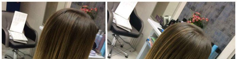 Брондирование на прямых волосах (30 фото)