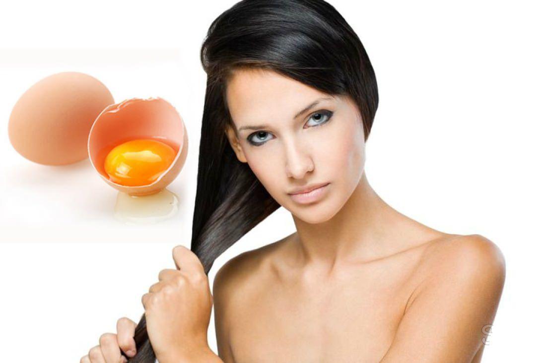 Маска для волос из яичного желтка