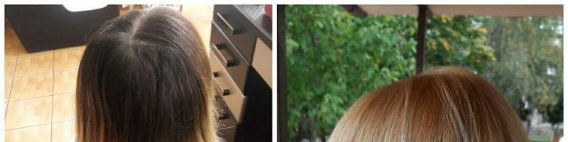 Венецианское мелирование: «до» и «после» окрашивания (20 фото)