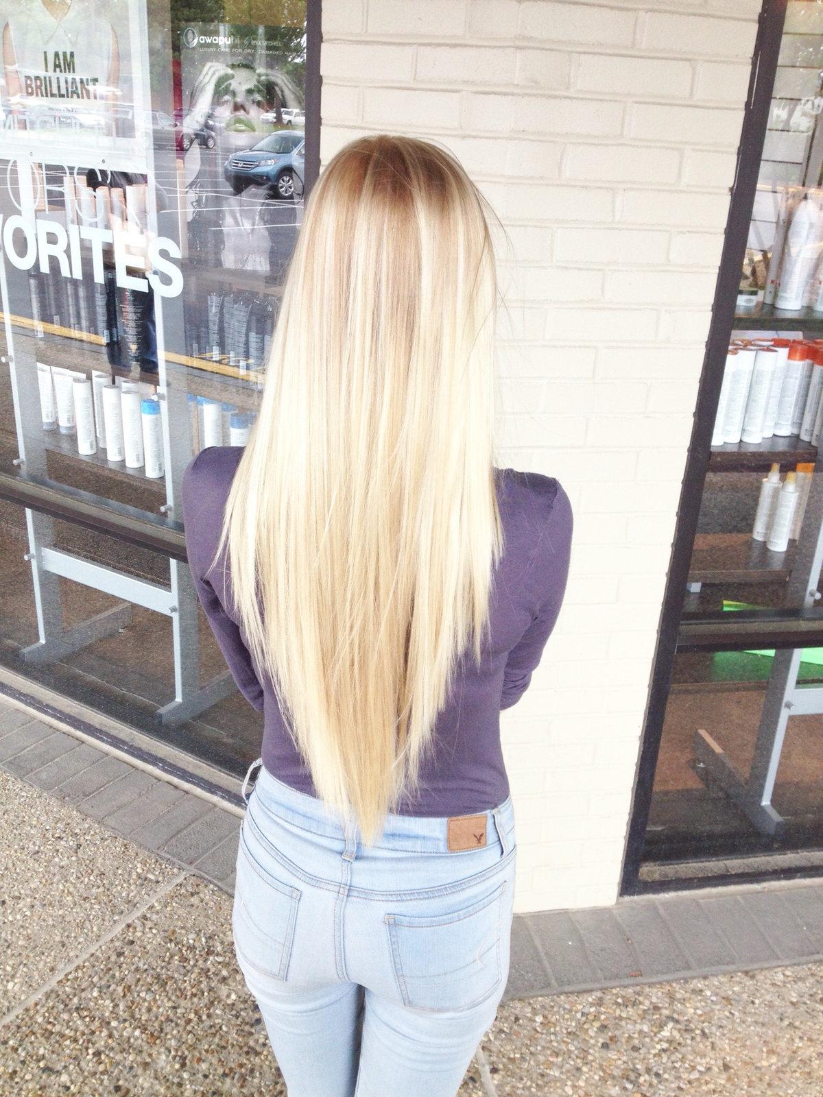 волосы подстриженные углом сзади фото